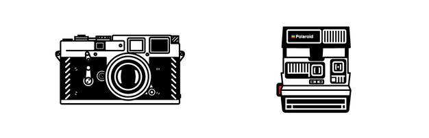 leica & polaroid prints